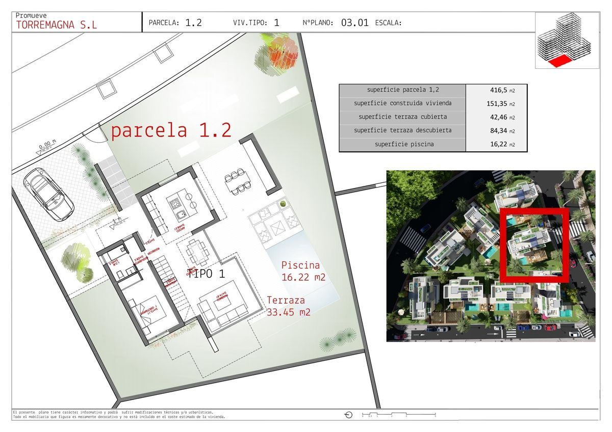 Villa for sale in Polop
