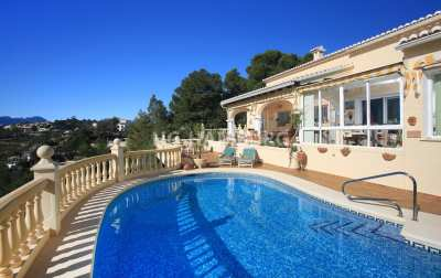 Villa for sale in Moraira