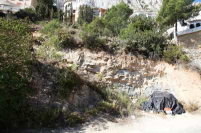 Plot for sale in Calpe