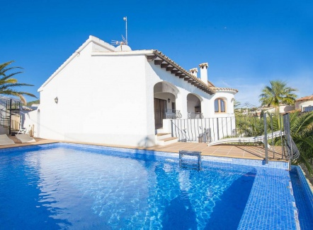 Villa for rent in Calpe